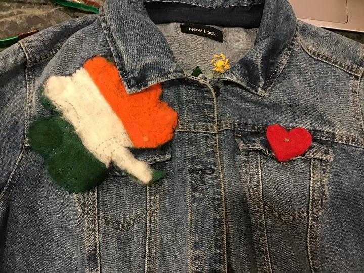 shamrock jean jacket